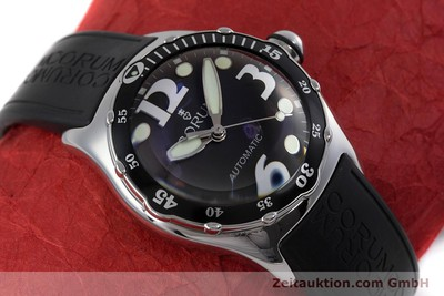 CORUM BUBBLE STEEL AUTOMATIC KAL. 800-650 ETA 2892-A2 LP: 3300EUR [160342]