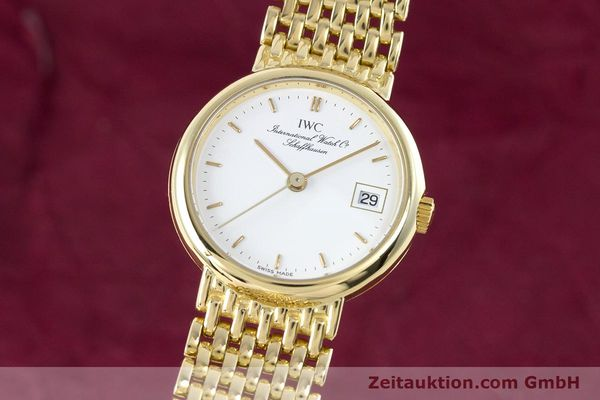 IWC PORTOFINO OR 18 CT QUARTZ KAL. 2209 ETA 256111 LP: 0EUR [160350]