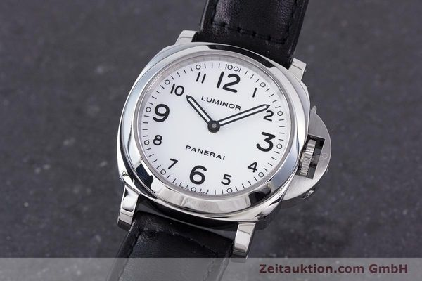 PANERAI LUMINOR STEEL MANUAL WINDING KAL. ETA B99501 LP: 5100EUR [160369]