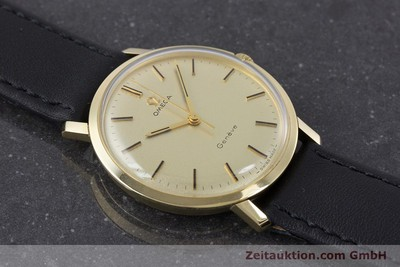 OMEGA 14 CT YELLOW GOLD MANUAL WINDING KAL. 601 VINTAGE [160371]