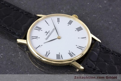 JAEGER LE COULTRE 18 CT GOLD QUARTZ KAL. 609 [160373]