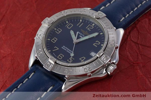 Used luxury watch Breitling Colt steel automatic Kal. B17 ETA 2824-2 Ref. A17035  | 160374 01
