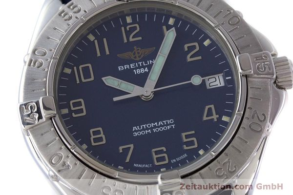 Used luxury watch Breitling Colt steel automatic Kal. B17 ETA 2824-2 Ref. A17035  | 160374 02