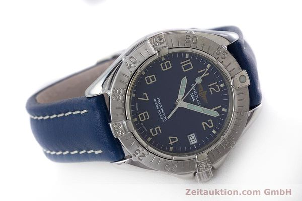 Used luxury watch Breitling Colt steel automatic Kal. B17 ETA 2824-2 Ref. A17035  | 160374 03