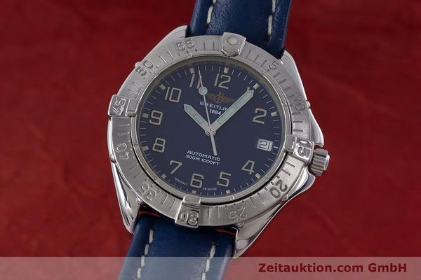 Used luxury watch Breitling Colt steel automatic Kal. B17 ETA 2824-2 Ref. A17035  | 160374 04