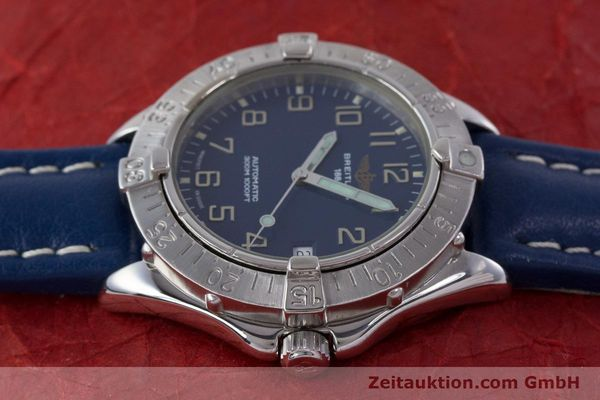 Used luxury watch Breitling Colt steel automatic Kal. B17 ETA 2824-2 Ref. A17035  | 160374 05