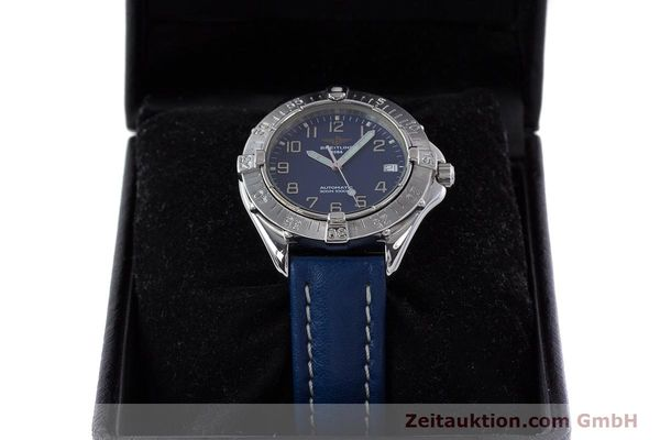 Used luxury watch Breitling Colt steel automatic Kal. B17 ETA 2824-2 Ref. A17035  | 160374 07