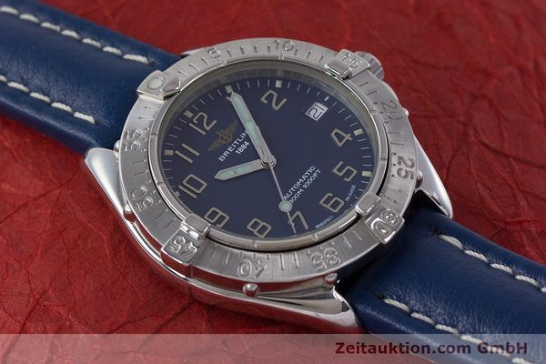 Used luxury watch Breitling Colt steel automatic Kal. B17 ETA 2824-2 Ref. A17035  | 160374 13