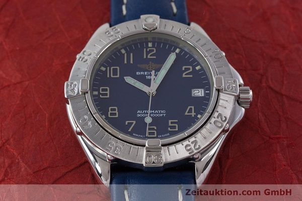 Used luxury watch Breitling Colt steel automatic Kal. B17 ETA 2824-2 Ref. A17035  | 160374 14