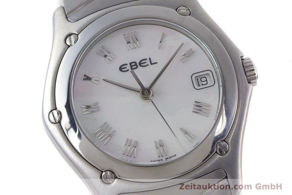 Used luxury watch Ebel Classic Wave steel quartz Kal. 87 Ref. 9087F21  | 160375 02