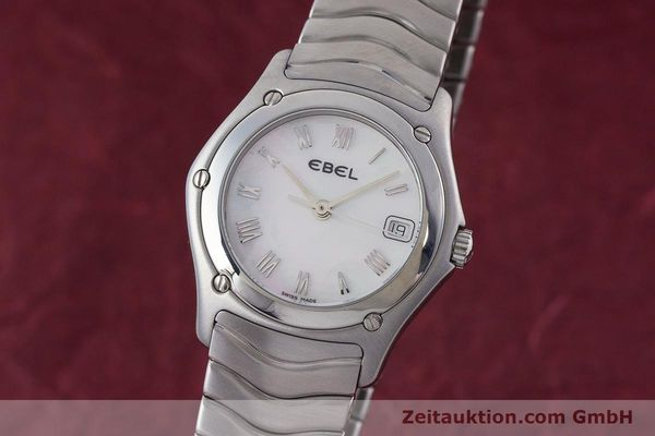 EBEL CLASSIC WAVE STEEL QUARTZ KAL. 87 LP: 1200EUR [160375]