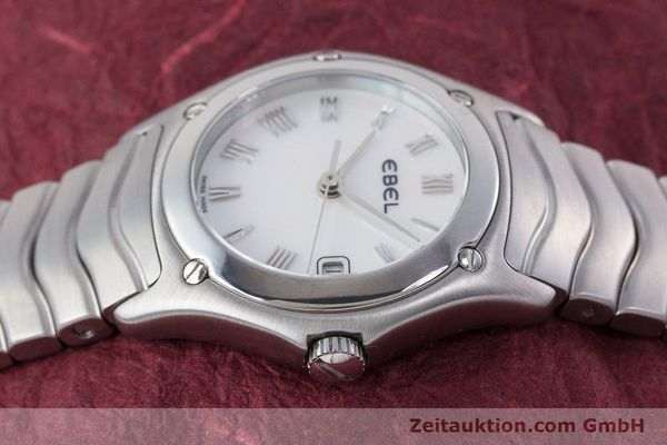 Used luxury watch Ebel Classic Wave steel quartz Kal. 87 Ref. 9087F21  | 160375 05