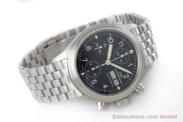Used luxury watch IWC Fliegerchronograph chronograph steel automatic Kal. 7922 Ref. 3706-005  | 160381 03