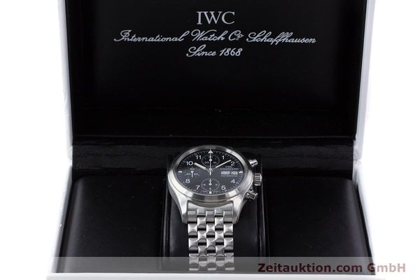 Used luxury watch IWC Fliegerchronograph chronograph steel automatic Kal. 7922 Ref. 3706-005  | 160381 07