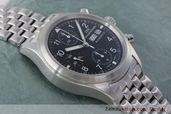 Used luxury watch IWC Fliegerchronograph chronograph steel automatic Kal. 7922 Ref. 3706-005  | 160381 17