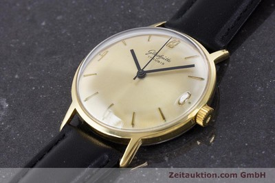 GLASHÜTTE GOLD-PLATED MANUAL WINDING KAL. 69.1 [160385]