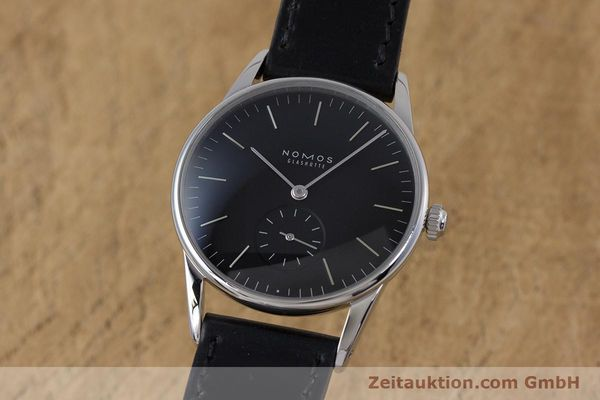 NOMOS ORION STEEL MANUAL WINDING KAL. ALPHA LP: 1520EUR [160386]