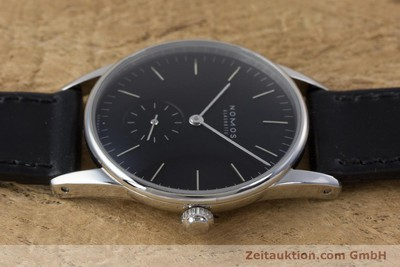 NOMOS ORION ACERO CUERDA MANUAL KAL. ALPHA LP: 1520EUR [160386]