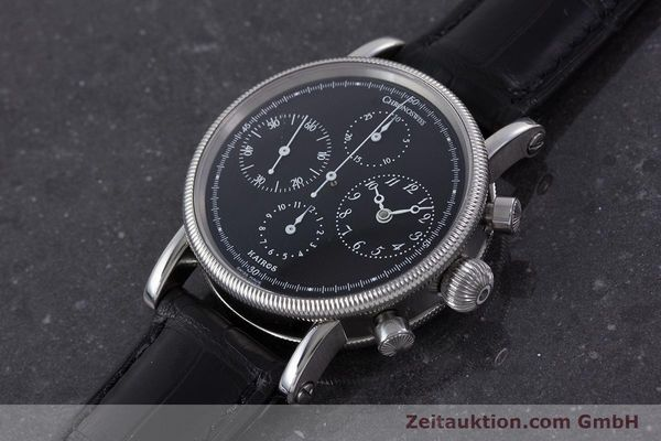 Used luxury watch Chronoswiss Kairos steel automatic Kal. 753 Ref. CH7523  | 160389 01