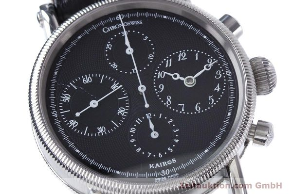 Used luxury watch Chronoswiss Kairos steel automatic Kal. 753 Ref. CH7523  | 160389 02