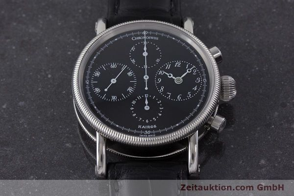 Used luxury watch Chronoswiss Kairos steel automatic Kal. 753 Ref. CH7523  | 160389 15