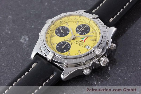 Used luxury watch Breitling Chronomat chronograph steel automatic Kal. B13 ETA 7750 Ref. A13050.1 LIMITED EDITION | 160392 01