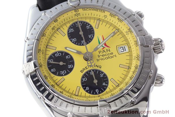 Used luxury watch Breitling Chronomat chronograph steel automatic Kal. B13 ETA 7750 Ref. A13050.1 LIMITED EDITION | 160392 02