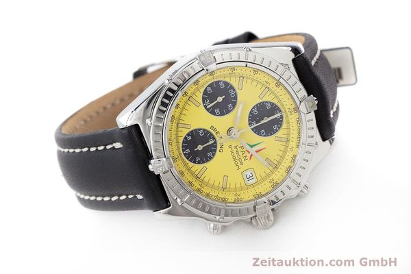 Used luxury watch Breitling Chronomat chronograph steel automatic Kal. B13 ETA 7750 Ref. A13050.1 LIMITED EDITION | 160392 03