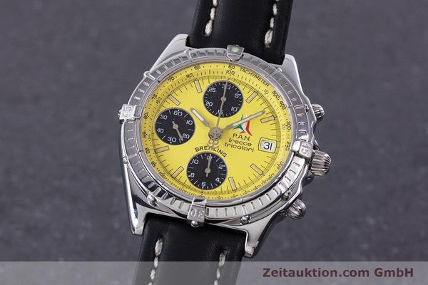 Used luxury watch Breitling Chronomat chronograph steel automatic Kal. B13 ETA 7750 Ref. A13050.1 LIMITED EDITION | 160392 04