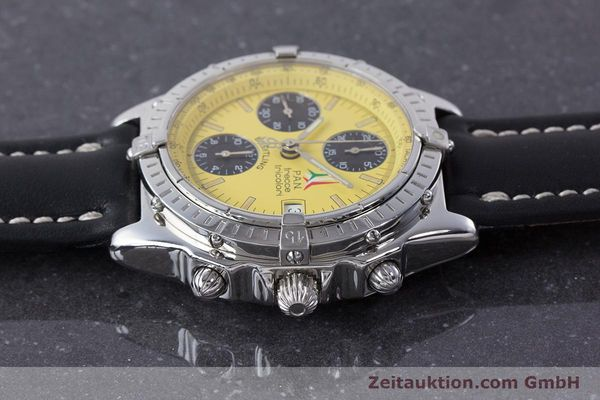 Used luxury watch Breitling Chronomat chronograph steel automatic Kal. B13 ETA 7750 Ref. A13050.1 LIMITED EDITION | 160392 05