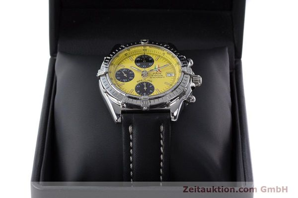 Used luxury watch Breitling Chronomat chronograph steel automatic Kal. B13 ETA 7750 Ref. A13050.1 LIMITED EDITION | 160392 07