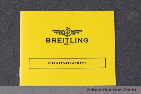 Used luxury watch Breitling Chronomat chronograph steel automatic Kal. B13 ETA 7750 Ref. A13050.1 LIMITED EDITION | 160392 11