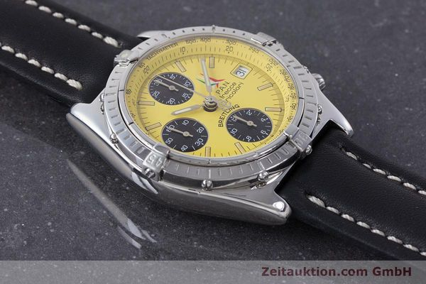 Used luxury watch Breitling Chronomat chronograph steel automatic Kal. B13 ETA 7750 Ref. A13050.1 LIMITED EDITION | 160392 14