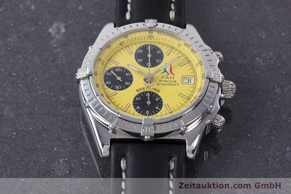 Used luxury watch Breitling Chronomat chronograph steel automatic Kal. B13 ETA 7750 Ref. A13050.1 LIMITED EDITION | 160392 15