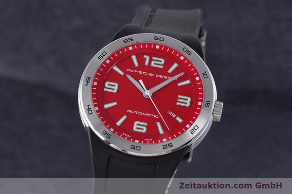 PORSCHE DESIGN FLAT SIX STEEL AUTOMATIC KAL. ETA 2892A2 LP: 2450EUR [160398]