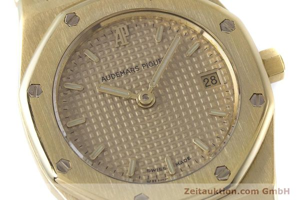 gebrauchte Luxusuhr Audemars Piguet Royal Oak 18k Gold Quarz Kal. 2610 Ref. D19854  | 160410 02