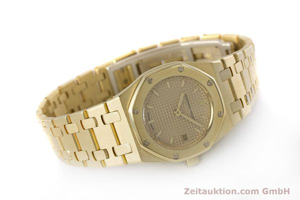 gebrauchte Luxusuhr Audemars Piguet Royal Oak 18k Gold Quarz Kal. 2610 Ref. D19854  | 160410 03