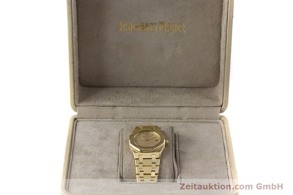 gebrauchte Luxusuhr Audemars Piguet Royal Oak 18k Gold Quarz Kal. 2610 Ref. D19854  | 160410 07