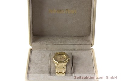 AUDEMARS PIGUET LADY 18K (0,750) GOLD ROYAL OAK DAMENUHR VP: 33900,- EURO [160410]