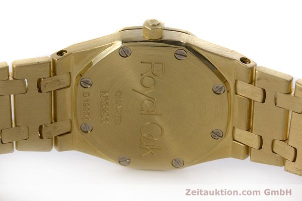 gebrauchte Luxusuhr Audemars Piguet Royal Oak 18k Gold Quarz Kal. 2610 Ref. D19854  | 160410 08
