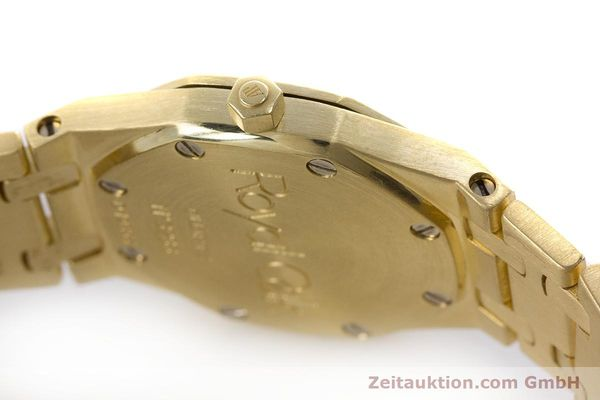 gebrauchte Luxusuhr Audemars Piguet Royal Oak 18k Gold Quarz Kal. 2610 Ref. D19854  | 160410 10