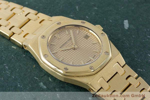 gebrauchte Luxusuhr Audemars Piguet Royal Oak 18k Gold Quarz Kal. 2610 Ref. D19854  | 160410 15