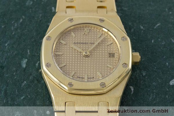 gebrauchte Luxusuhr Audemars Piguet Royal Oak 18k Gold Quarz Kal. 2610 Ref. D19854  | 160410 16