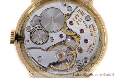 ROLEX CELLINI 18 CT GOLD MANUAL WINDING KAL. 1602 LP: 8200EUR [160411]