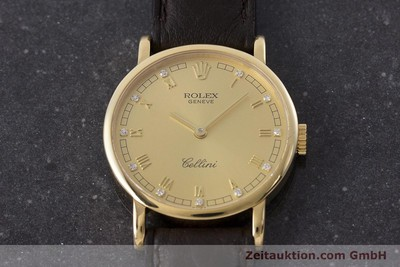 ROLEX CELLINI ORO 18 CT CARICA MANUALE KAL. 1602 LP: 8200EUR [160411]
