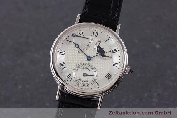BREGUET CLASSIQUE 18 CT WHITE GOLD AUTOMATIC LP: 36700EUR [160417]