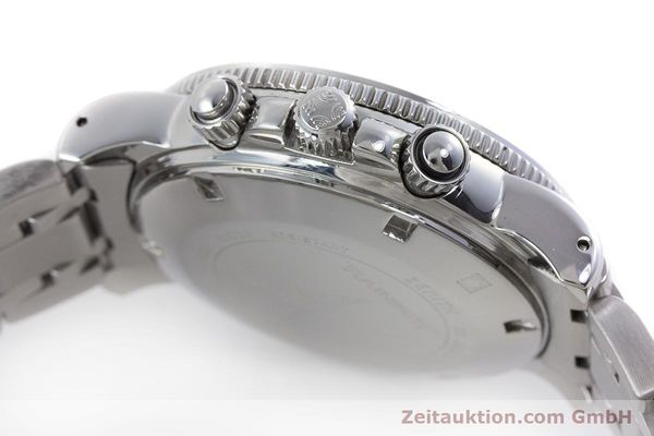 Used luxury watch Zenith El Primero chronograph steel automatic Kal. 400 Ref. 02-0370-400  | 160421 08