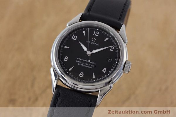 ETERNA 1948 STEEL AUTOMATIC KAL. ETA 2824-2 LP: 1650EUR [160423]