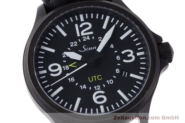 Used luxury watch Sinn 856 UTC steel automatic Kal. ETA 2893-2 Ref. 856.4343  | 160427 02