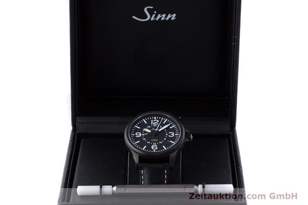Used luxury watch Sinn 856 UTC steel automatic Kal. ETA 2893-2 Ref. 856.4343  | 160427 07